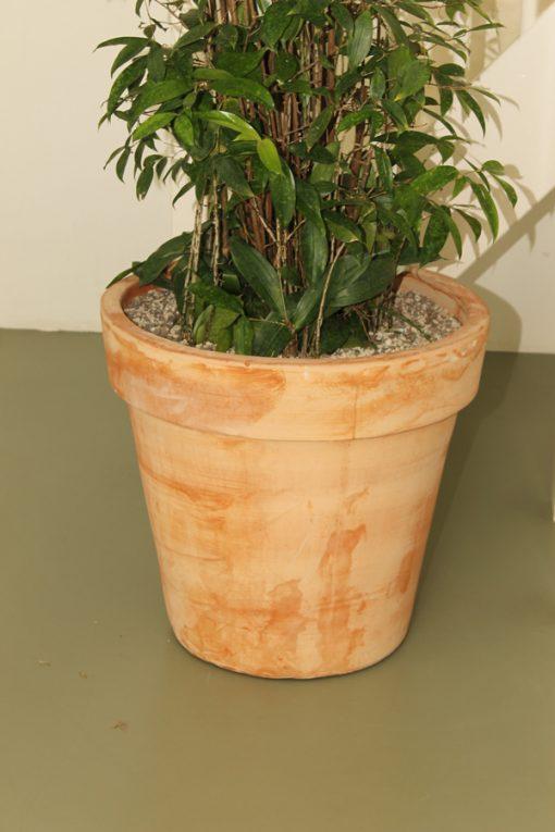 Bloempot-Terracotta-Rood