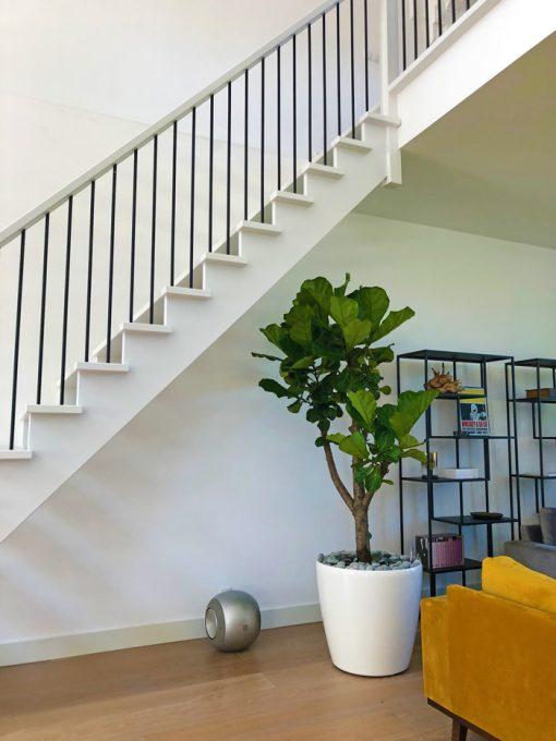 Plantenbak-Kunststof-Rond-wit-met-binnenboom